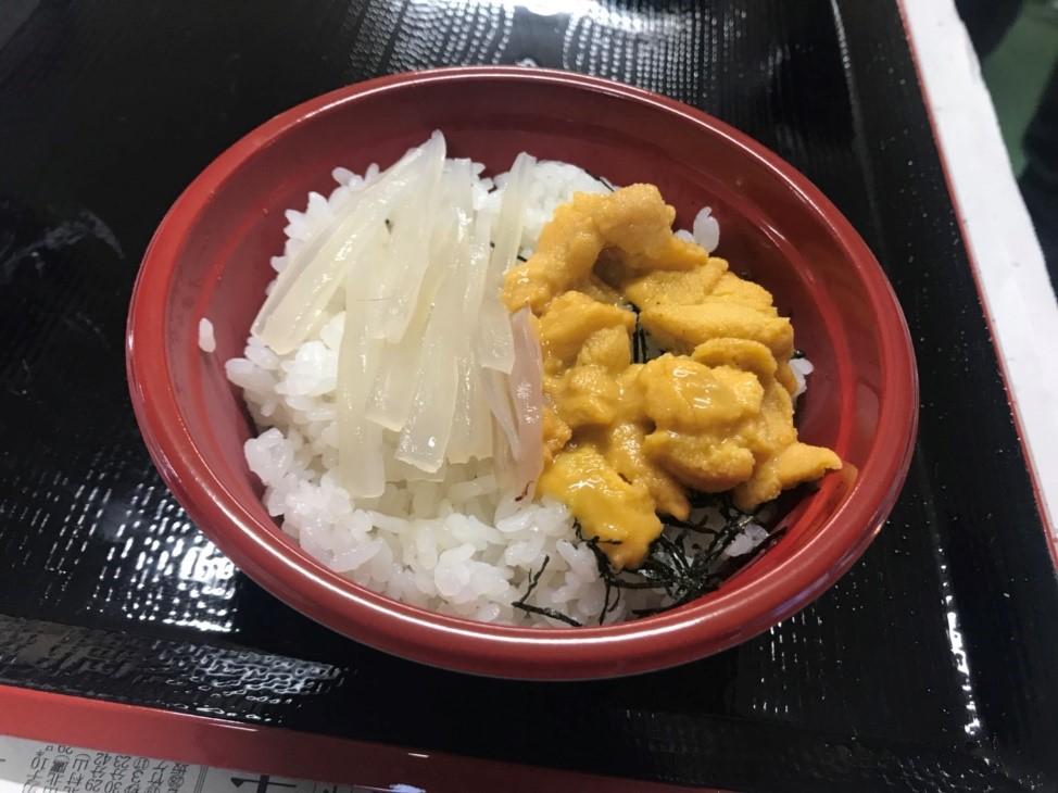 「うにイカ丼」 ゆかい村海鮮どんぶりまつり2018