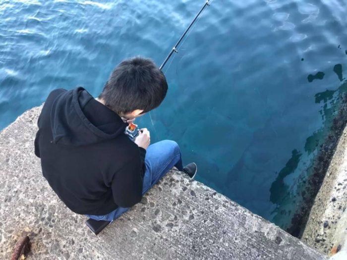 風間浦村 下風呂漁港 海釣り