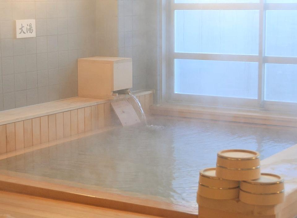 大湯 下風呂温泉(しもふろおんせん)「海峡の湯」