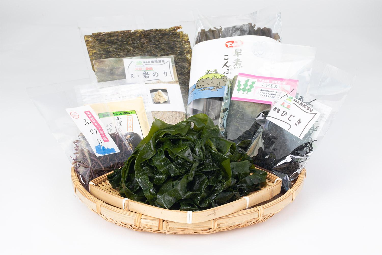 ふのりちゃんで買える海藻類